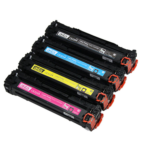HP 128A Yellow Compatible Toner Cartridge (CE322A) - Asta Brand