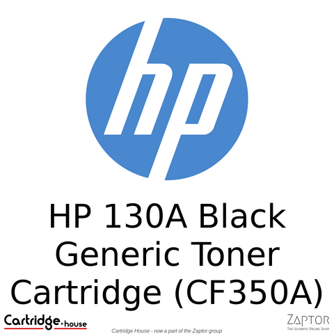 HP 130A Black LaserJet Toner Cartridge (CF350A)