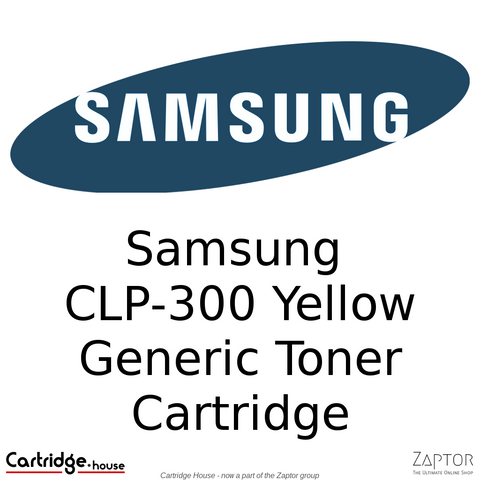 Samsung CLP-Y300 Yellow Compatible Toner Cartridge