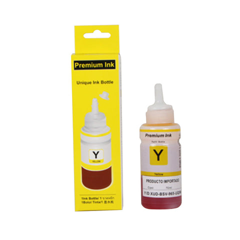 70ml Bottle of Yellow Dye Based Ink