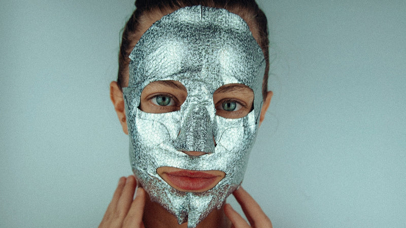 Karma Glitter Foil Mask - PERK  (Patented # 30-0998617-00-00)