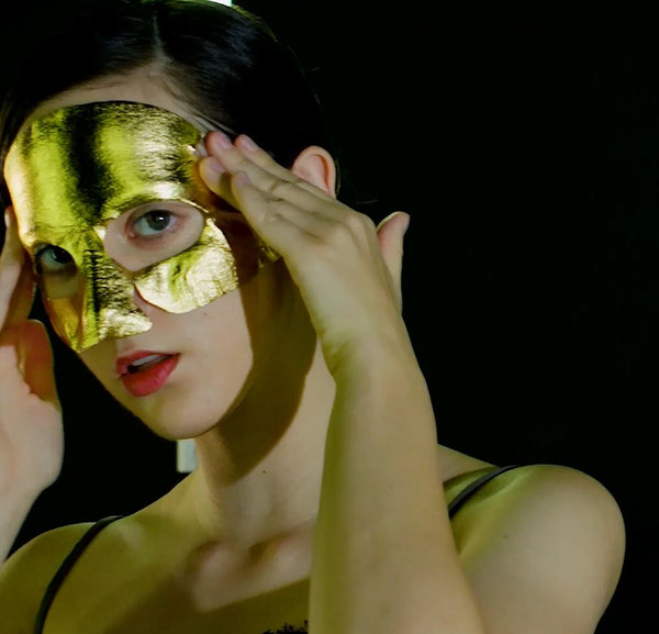 24K Gold Metallic Foil Mask - GLOW
