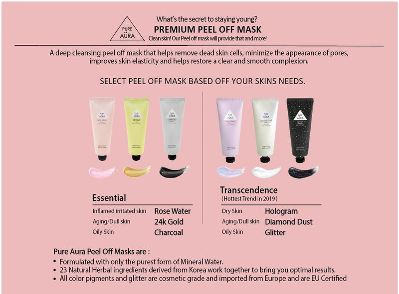 Hologram Peel Off Mask