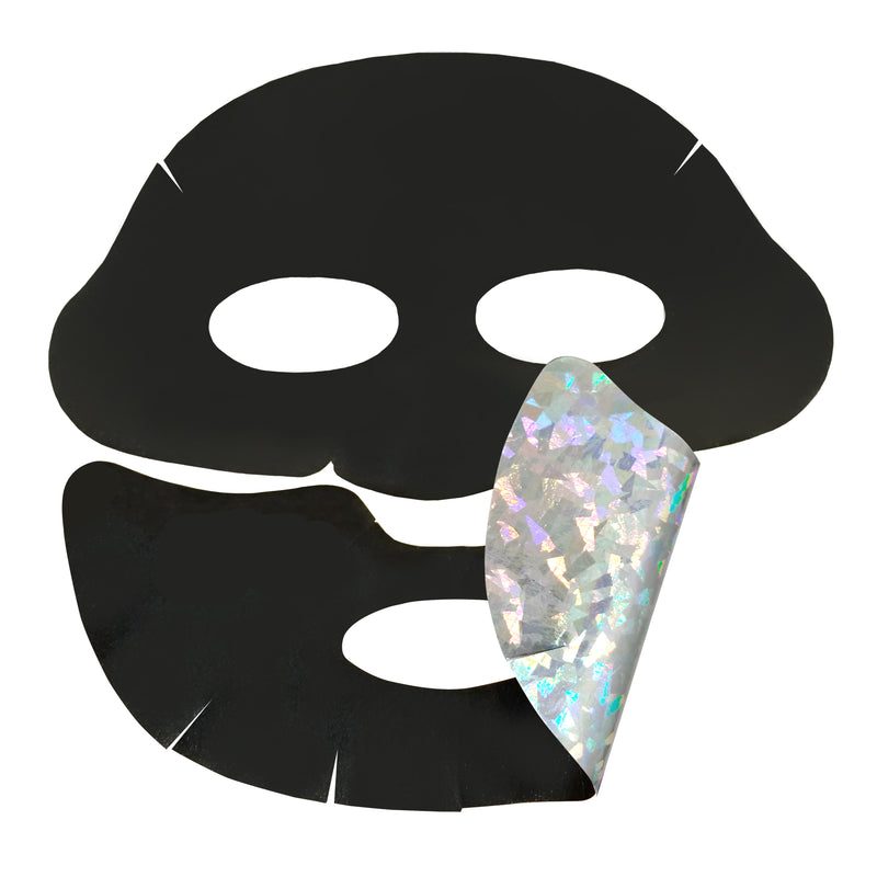 Halo Glow Hologram Foil Mask - PERK  (Patented # 30-0998617-00-00)