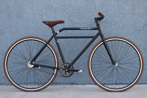 "<p align=""left""><font color=""white""></font>""Espresso Racer"" Bicycle</br>&nbsp;&nbsp;&nbsp;Dual Speed Collection</p>"