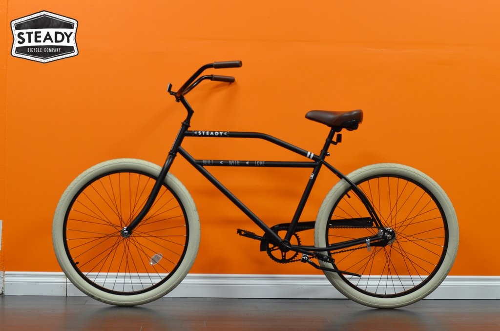 Steady Bikes Boardtrack Beach Cruiser Antique 1950s 1960s Style Bicycle Rockabilly Shop Stores Sales for Sale