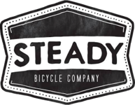 Steady Bicycle Company Retro Vintage Classic Rockabilly Iconic Bikes and Motorcycles Steadyrack Mod Moto