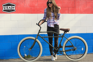 Rockabilly Classic Retro Rat Rod Beach Cruiser Bicycle