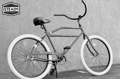 Steady Bicycle Company Classic Rockabilly Beach Cruiser Bikes
