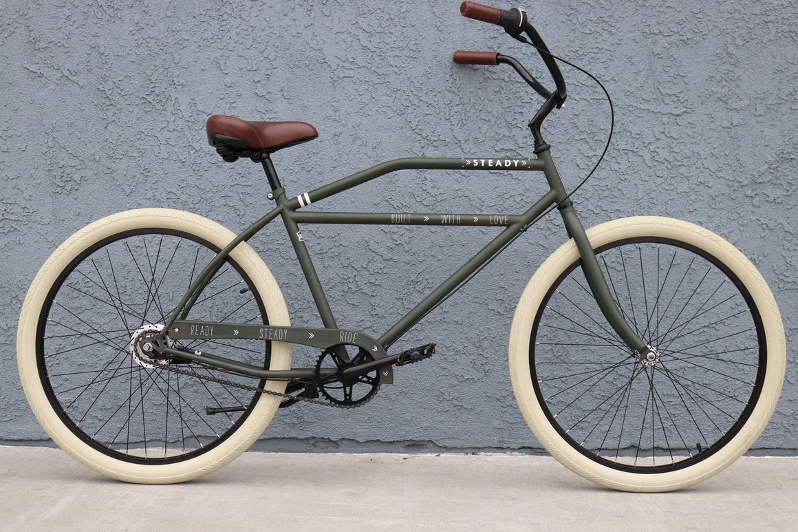 Hot Rod Bicycles Steady Bicycle Company Old Guys Rule Motorcycle Bike Cafe Racer Rat Rod