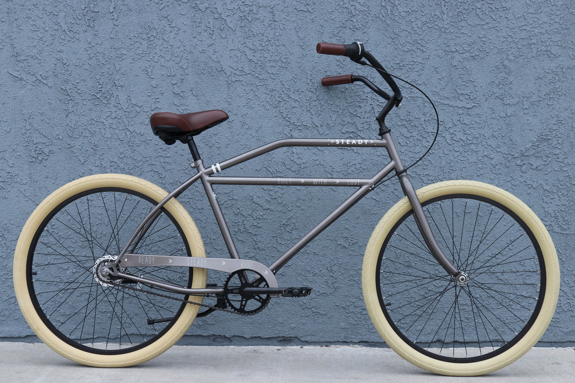 Beach Cruiser Chopper, Bobber, Rat Rod Bike Steady Bicycle Company