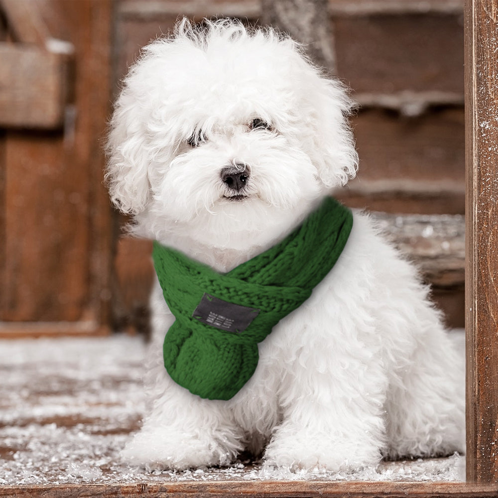 Warm Winter Scarf For Dogs