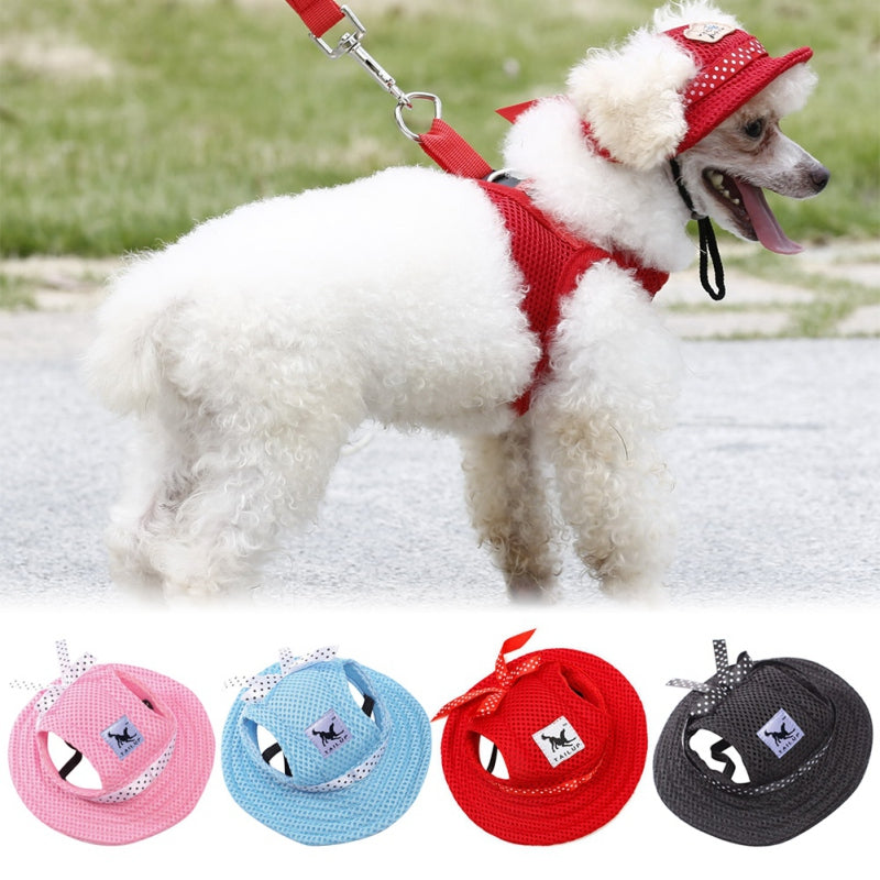 Breathable Mesh Summer Hat For Dogs