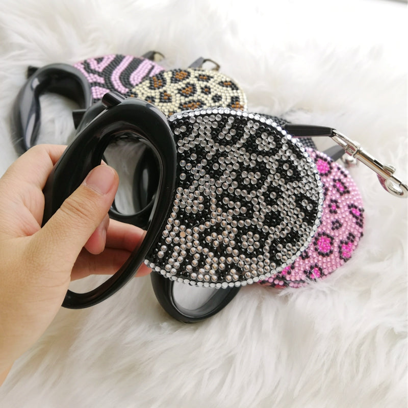 Bling Retractable Dog Leash