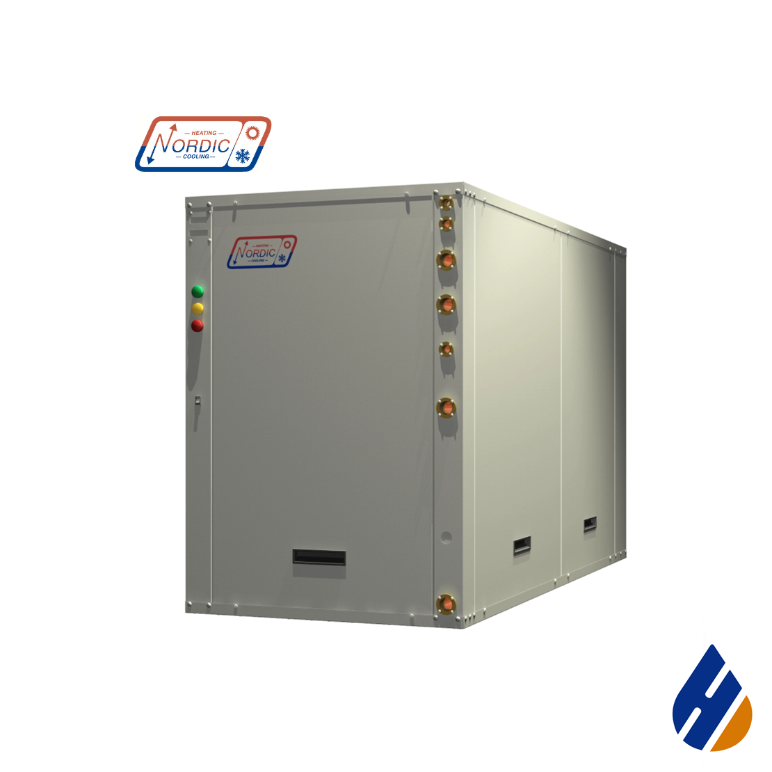 Nordic EMW Series Residential liquid-to-water heat pump.