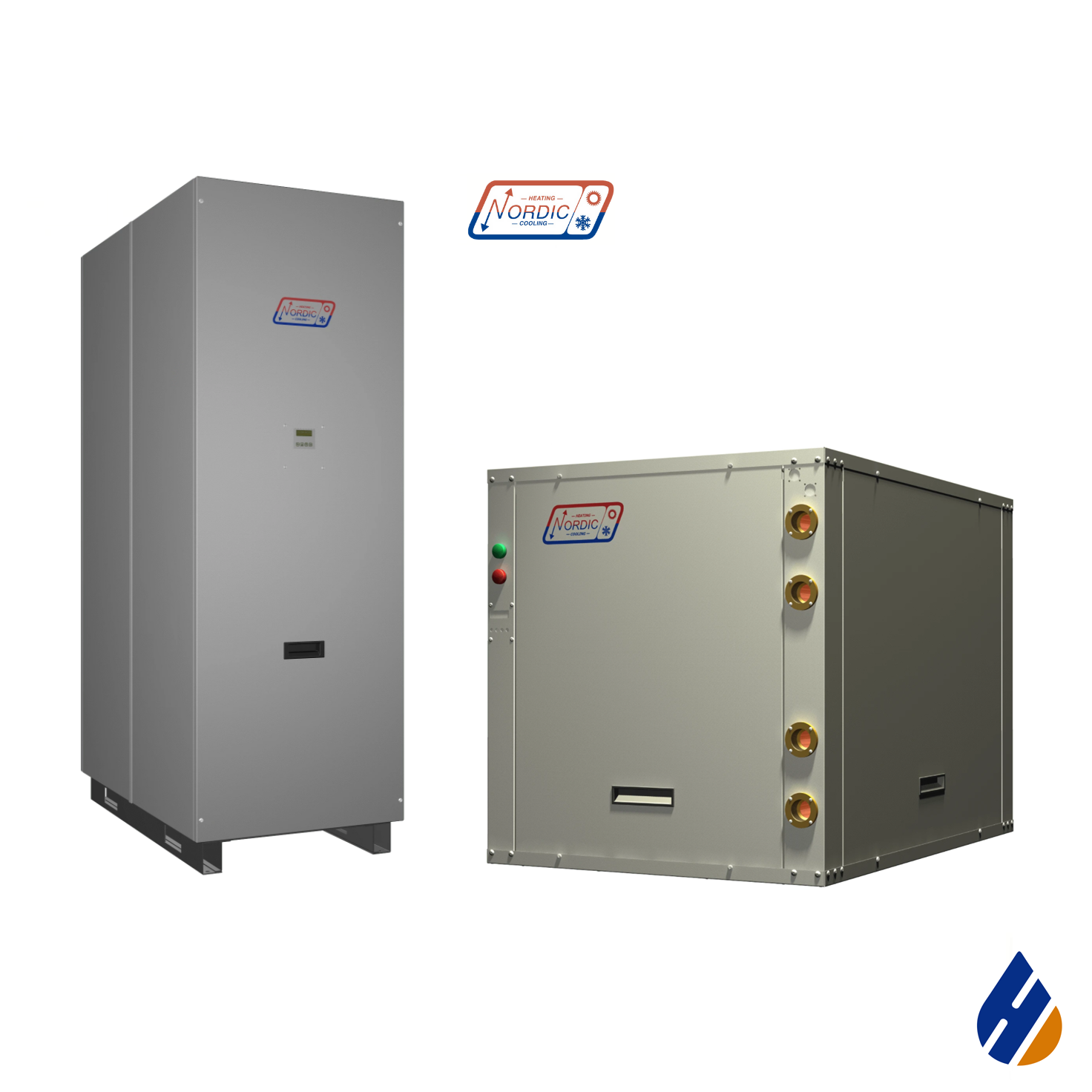 Nordic W Series Commercial liquid-to-water heat pump.