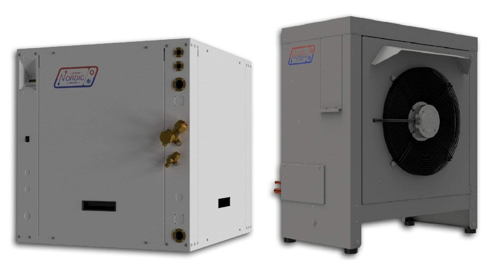 ATW-25 Air to Water Heat Pump - Nordic ATW25 - Split Type - 2 Tons Nominal Cooling Capacity