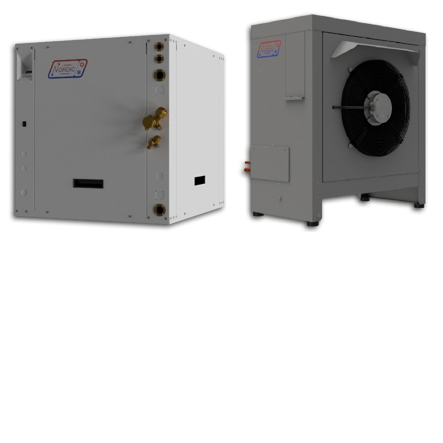 ATW-65 Air to Water Heat Pump - Nordic ATW65 - Split Type - 5 Tons Nominal Cooling Capacity