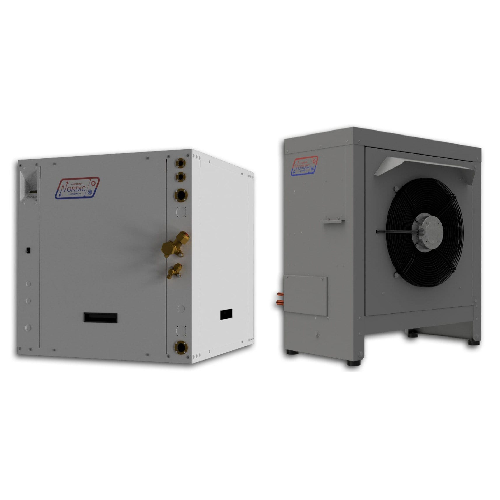 ATW-75 Air to Water Heat Pump - Nordic ATW75 - Split Type - 6 Tons Nominal Cooling Capacity