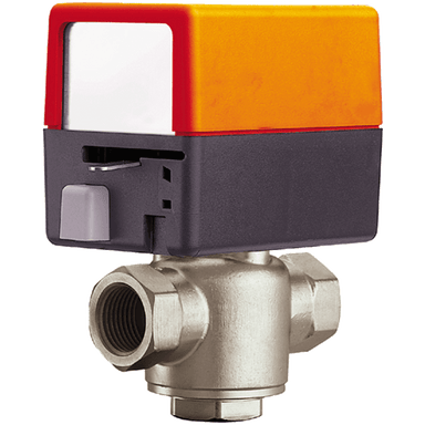 BELIMO MOTORISED 3 WAY VALVE - 120V WITH SPRING RETURN AND SPST MICROSWITCH