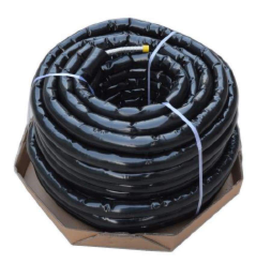 Flexible Corrugated Stainless Steel EPDM Pre-Insulated Single Solar Hose with Seamless Jacketing