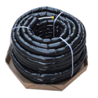Flexible Corrugated Stainless Steel EPDM Pre Insulated Single Solar Hose with Seamless Jacketing & Sensor Cable