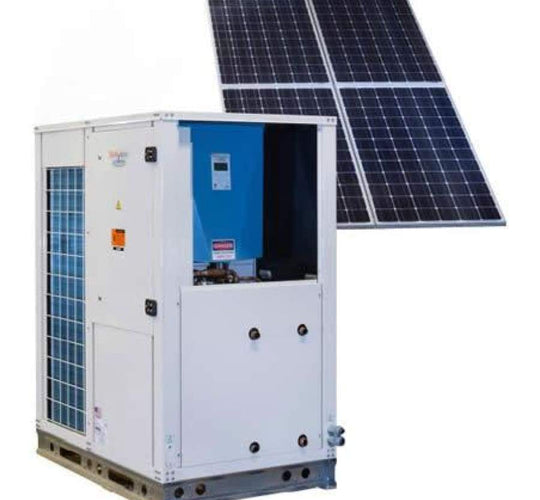 Simultaneous Heating & Cooling Chiller for Solar Applications