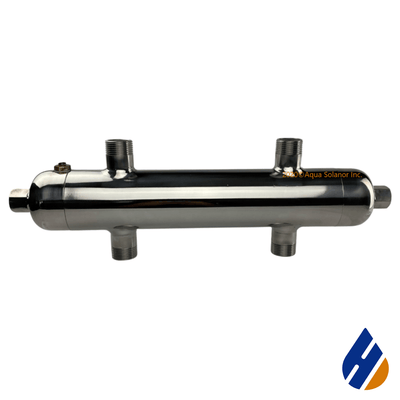 "Stainless Steel Hydraulic Separator - 1"" BSPT threaded - LL9022"
