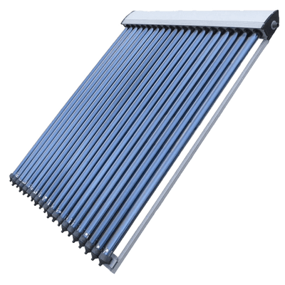 Vacuum Tube Solar Collector, SRCC Certified, S Power - Complete with Header, Footer and Tubes - Made in Germany