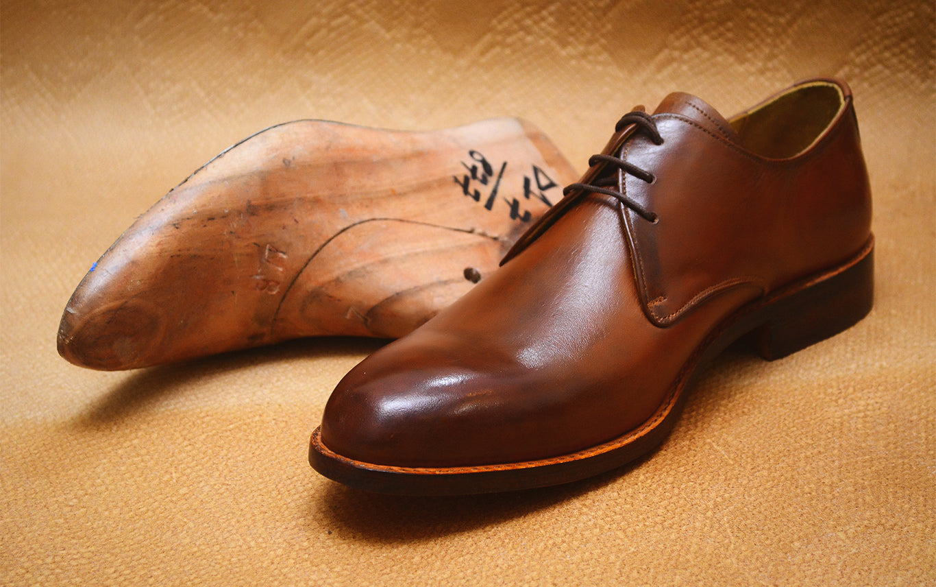 Handmade Leather Derby