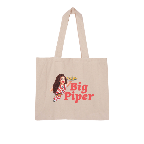 Big Piper Large Organic Tote Bag