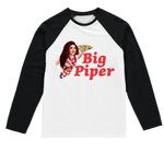 Big Piper Sublimation Baseball Long Sleeve T-Shirt