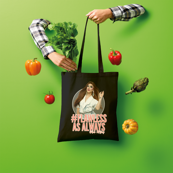 #Flawless As Always Shopper Tote Bag