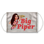 Big Piper Sublimation Face Mask