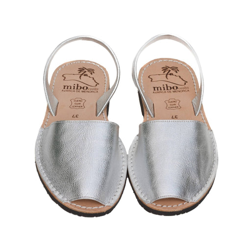 Silver Luxe Sandals