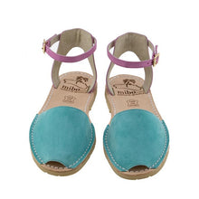 Rose Teal with Ankle Strap