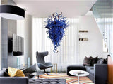 Blue Magic Hand Blown Glass Chandelier - Grand Entrance Chandelier