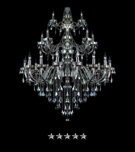 Italian Antique Pendant Crystal Chandelier - Grand Entrance Chandelier