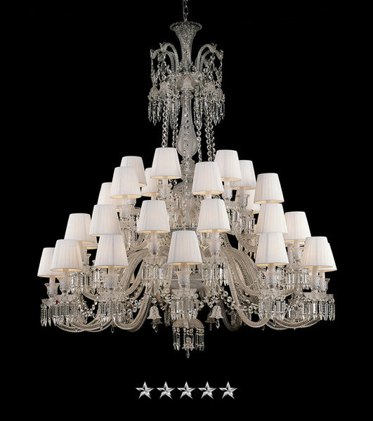 Grand Solstice Zenith Crystal Chandelier - Grand Entrance Chandelier