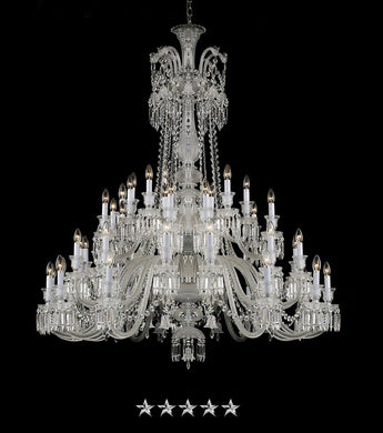 Grand Peak Crystal Chandelier - Grand Entrance Chandelier