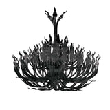 Arabella Black Crystal Chandelier - Grand Entrance Chandelier
