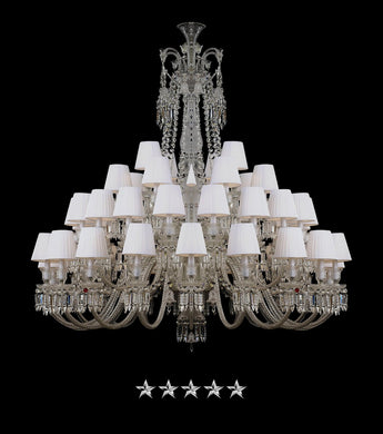 Grand Crown Crystal Chandelier - Grand Entrance Chandelier