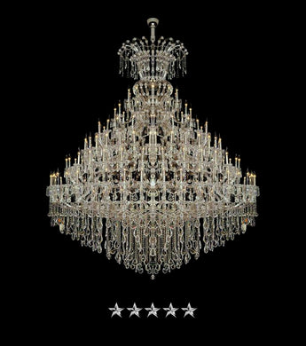 Maria Theresa Anniversary Crystal Chandelier - Grand Entrance Chandelier