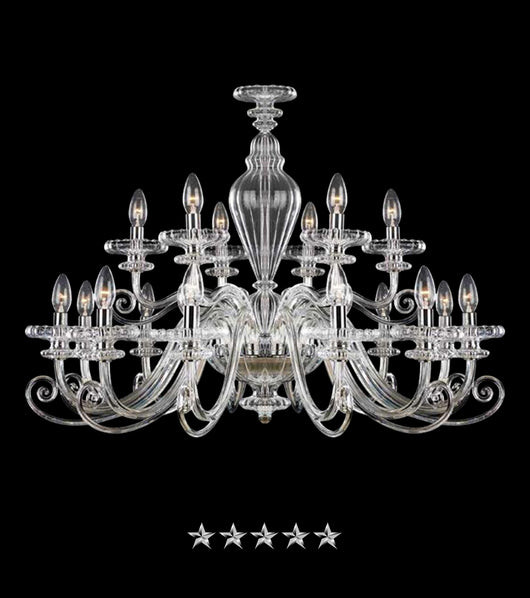 Bohemian Floridian Crystal Chandelier - Grand Entrance Chandelier