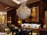 Maria Theresa Golden Crowned Chandelier - Grand Entrance Chandelier