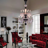Saint Louis Parisian 12 Light Crystal Chandelier - Grand Entrance Chandelier