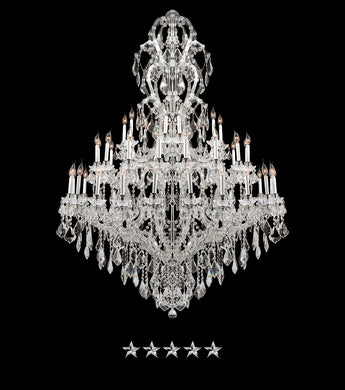 Maria Theresa Ice Kingdom Chandelier - Grand Entrance Chandelier