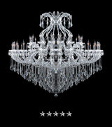 Maria Theresa Ice Crystal Chandelier - Grand Entrance Chandelier