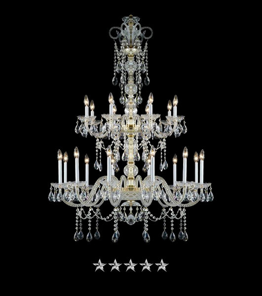 Bohemian Crowned Jewels Chandelier - Grand Entrance Chandelier
