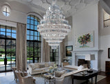 Grand Crystal Empire Chandelier - Grand Entrance Chandelier
